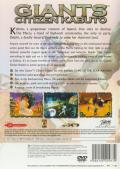 Giants: Citizen Kabuto PlayStation 2 Back Cover