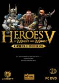 Heroes of Might and Magic V (Gold Edition) Windows Other Keep Case - Front