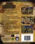 Age of Empires (Collector's Edition) Windows Back Cover