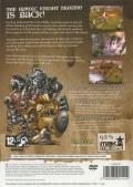 Maximo vs Army of Zin PlayStation 2 Back Cover