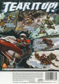 Sled Storm PlayStation 2 Back Cover