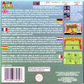 Mario Tennis: Power Tour Game Boy Advance Back Cover