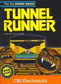 Tunnel Runner Atari 2600 Front Cover