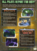 Wing Commander: Prophecy (Gold Edition) Windows Back Cover
