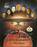 """Star Trek: The Next Generation - """"A Final Unity"""" DOS Front Cover"""