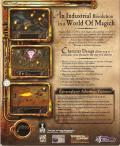 Arcanum: Of Steamworks & Magick Obscura Windows Back Cover