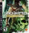 Uncharted: Drake's Fortune PlayStation 3 Front Cover