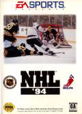 NHL '94 Genesis Front Cover