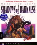 Quest for Glory: Shadows of Darkness DOS Front Cover