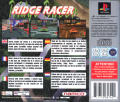 Ridge Racer PlayStation Back Cover