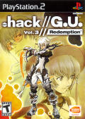 .hack//G.U. Vol. 3//Redemption PlayStation 2 Front Cover