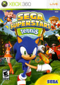 SEGA Superstars Tennis Xbox 360 Front Cover