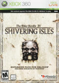 The Elder Scrolls IV: Shivering Isles Xbox 360 Front Cover