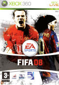 FIFA Soccer 08 Xbox 360 Front Cover