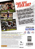 FIFA Soccer 08 Xbox 360 Back Cover