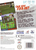 FIFA Soccer 08 Wii Back Cover