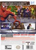 Spider-Man: Friend or Foe Wii Back Cover