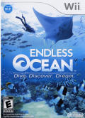 Endless Ocean Wii Front Cover