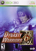 Dynasty Warriors 6 Xbox 360 Front Cover