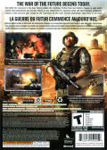 Frontlines: Fuel of War Xbox 360 Back Cover