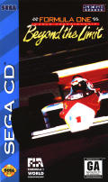 Formula One World Championship: Beyond the Limit SEGA CD Front Cover