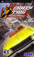 Crazy Taxi: Fare Wars PSP Front Cover