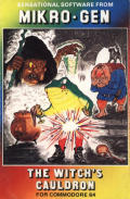 The Witch's Cauldron Commodore 64 Front Cover