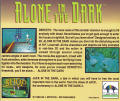 Alone in the Dark DOS Other Jewel Case - Back