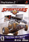 World of Outlaws: Sprint Car Racing 2002 PlayStation 2 Front Cover