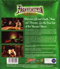 Frankenstein: Through the Eyes of the Monster Windows Back Cover