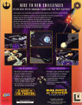 Star Wars: X-Wing Vs. TIE Fighter - Balance of Power Campaigns Windows Back Cover