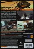 Grand Theft Auto IV Xbox 360 Back Cover