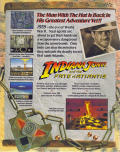 Indiana Jones and the Fate of Atlantis Macintosh Back Cover