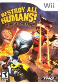 Destroy All Humans! Big Willy Unleashed Wii Front Cover