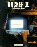 Hacker II: The Doomsday Papers Commodore 64 Front Cover