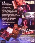 The Dame Was Loaded DOS Back Cover