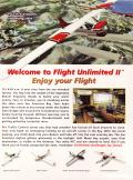 Flight Unlimited II Windows Inside Cover Left Flap