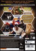 Marvel Ultimate Alliance (Special Edition) Xbox 360 Back Cover
