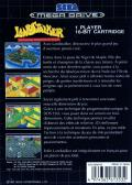 Landstalker: Treasure of King Nole Genesis Back Cover