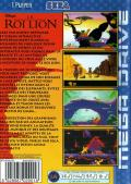 The Lion King Genesis Back Cover