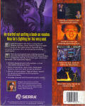 Gabriel Knight: Sins of the Fathers DOS Back Cover