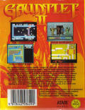 Gauntlet II Commodore 64 Back Cover