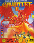Gauntlet II Commodore 64 Front Cover