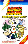 Danger Mouse in the Black Forest Chateau Commodore 64 Front Cover