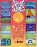 The Games: Summer Edition ZX Spectrum Back Cover