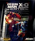 Iron Man / X-O Manowar in Heavy Metal DOS Front Cover