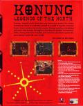 Legend of the North: Konung Windows Back Cover