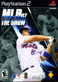 MLB 07: The Show PlayStation 2 Front Cover