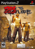 25 to Life PlayStation 2 Front Cover