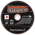 Backyard Wrestling 2: There Goes the Neighborhood PlayStation 2 Media Game disc